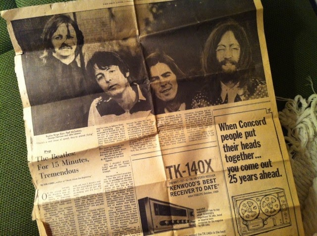 "The New York Times de 1969 disse que o ""Abbey Road"" era um desastre"