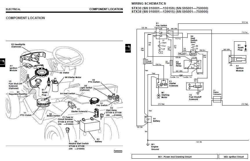 Secret Diagram  More Wiring Diagram John Deere Stx38