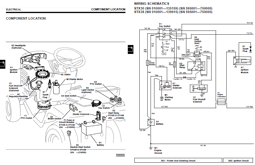 Secret Diagram: More Wiring diagram john deere stx38Secret Diagram - blogger