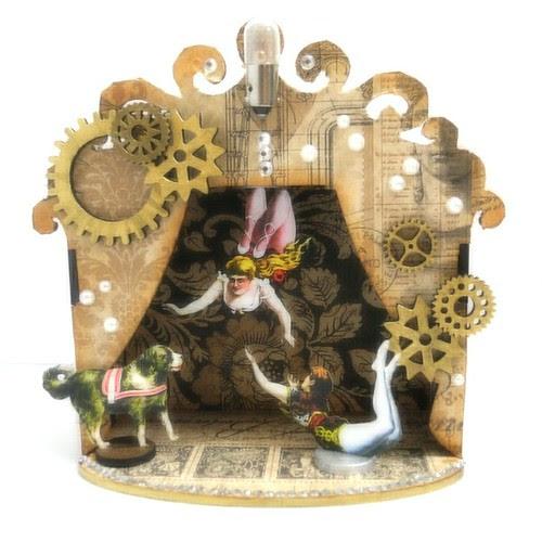 Steampunk Circus Shrine - Soft Focus