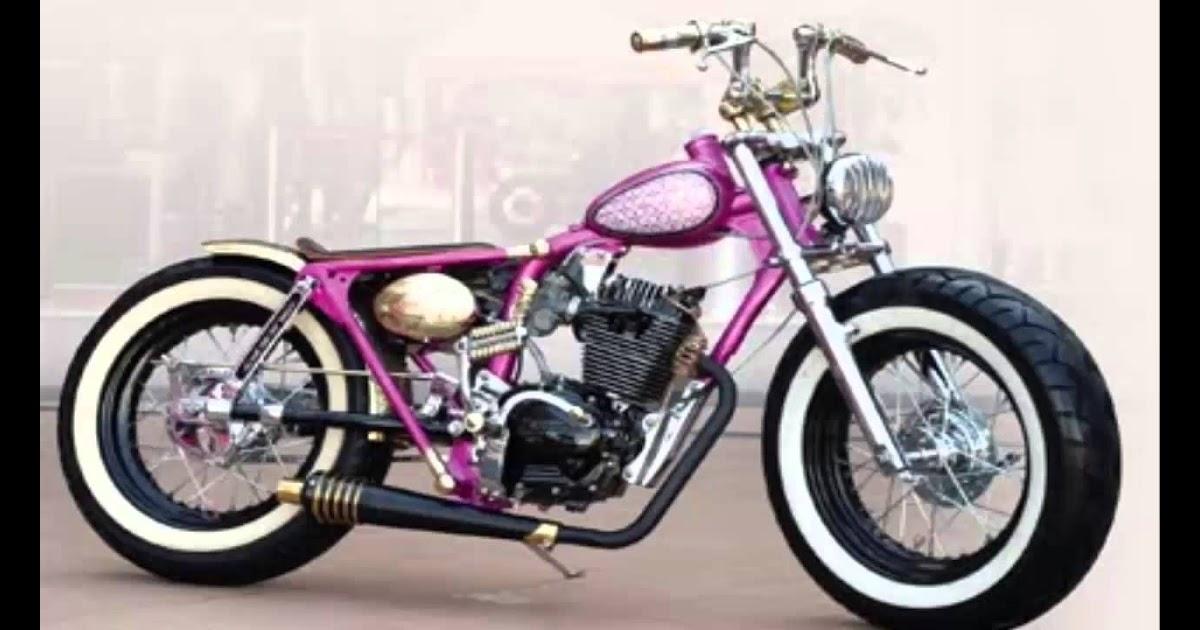Gambar Motor Gl Modif Harley Combo Modifikasi