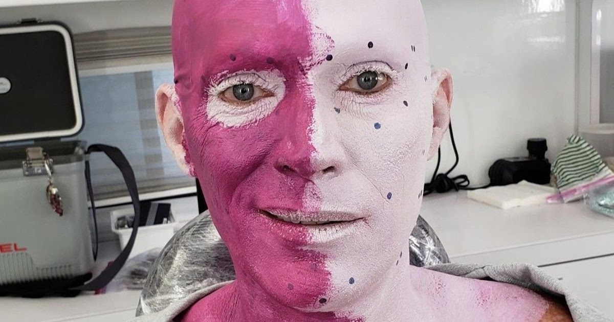 WandaVision BTS Image Shows Paul Bettany Transforming into ...