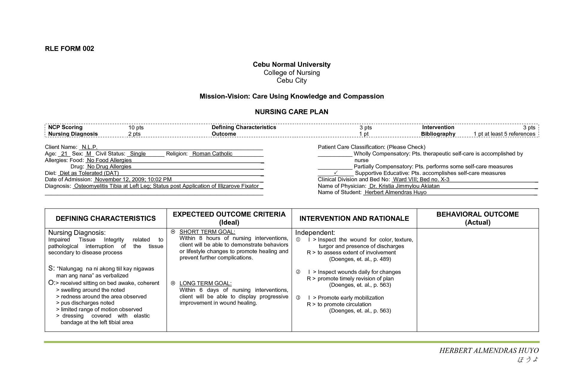 Nanda Nursing Diagnosis Book Apa Citation - MedicineBTG.com