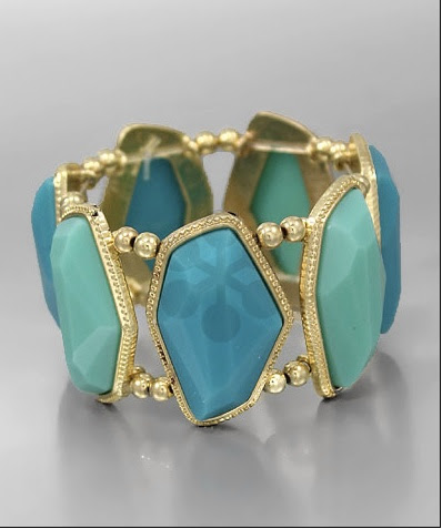 Mint Colored  Jewelry!! Gorgeous Bracelet