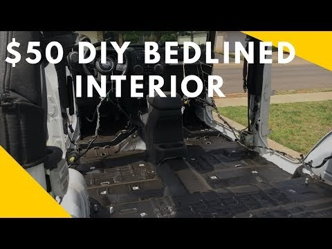 Bed-lining My Jeep's Floor Pan