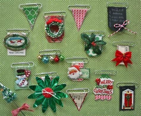 Holiday Decorative Clip Embellishments (Vintage Street