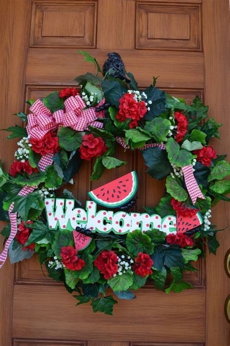 17 Best images about Summer wreaths on Pinterest   Wreaths