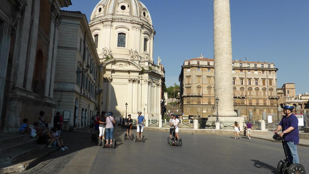 Segways in Rome