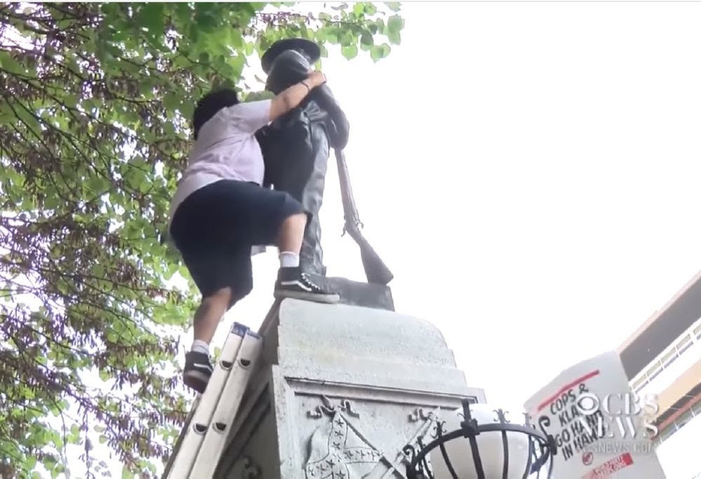 Vandals Are Destroying Monuments Because They've Been Taught To Hate America