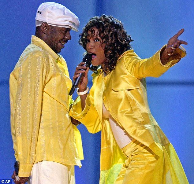 Relação: o casamento turbulento Houston para o cantor Bobby Brown foi o tema de fofocas dos tablóides há anos