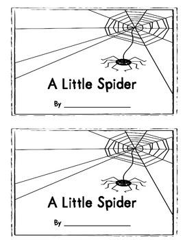 Jen's A Little Spider Book
