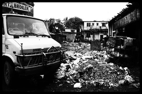 The Garbage Graveyard Of Bandra Bazar .. by firoze shakir photographerno1