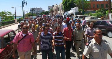إضراب أمناء شرطة- أرشيفية