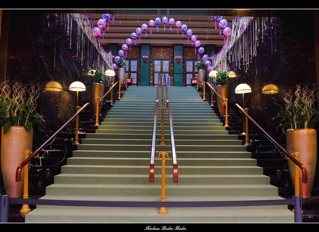 Das Baden-Badener Kurhaus mit dem weltberühmten Casino