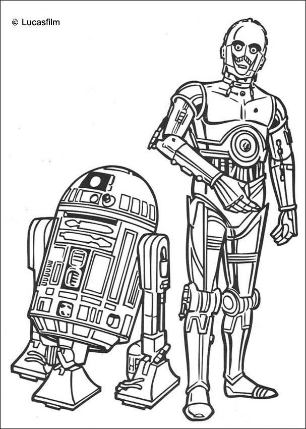 Star Wars Droid Coloring Pages At Getdrawingscom Free For