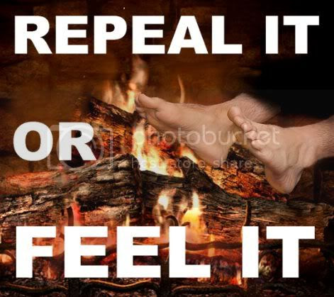 Repeal It Or Feel It