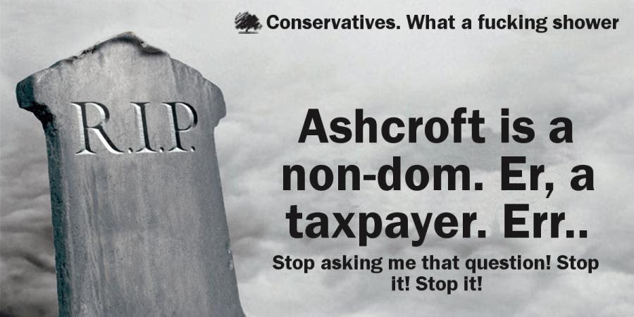 Does anyone know if Lord Ashcroft even exists?