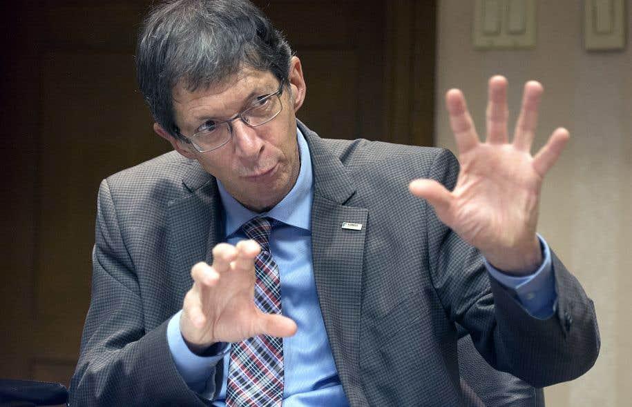 Gaétan Morin, président et chef de la direction du Fonds de solidarité de la FTQ