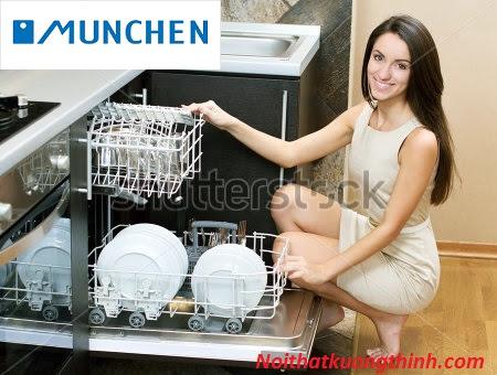 Tiết kiệm thời gian với máy rửa bát Munchen M15