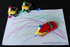 Coloring w/ Cars