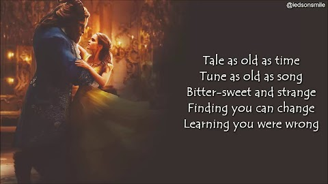 Beauty And The Beast Lyrics Belle Tale As Old As Time