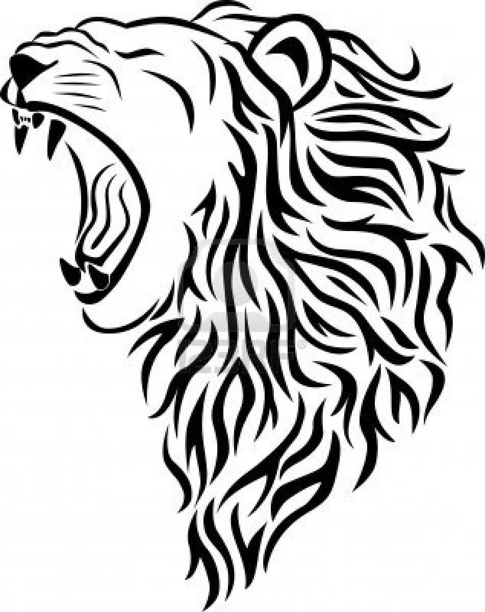 Coloriage  imprimer Animaux Animaux carnivores Lion numéro