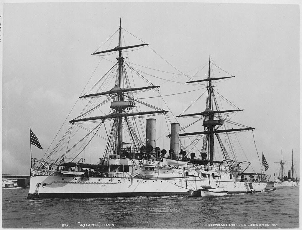 Protected Cruiser USS Atlanta 1891