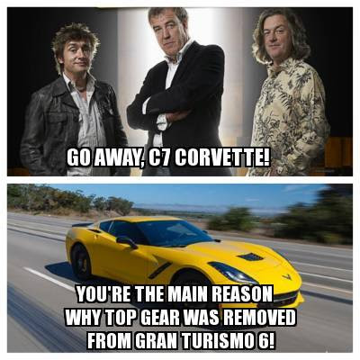 Ashamed that GT6 revoked Top Gear, here's my reponse…