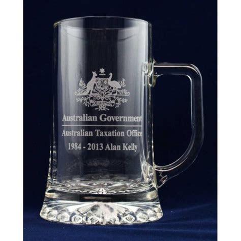 BEER GLASS MUG STEIN AWARD TROPHY CUSTOM LASER ENGRAVING