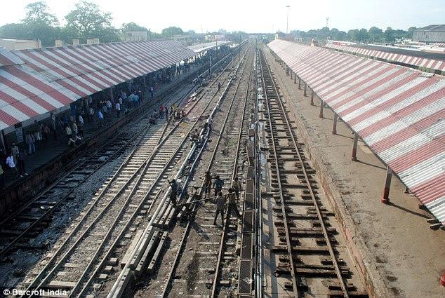 Gorakhpur, railway platform