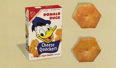 Donald Duck Cheese Quackers