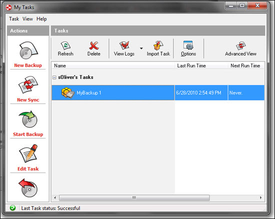 GFI Backup Software