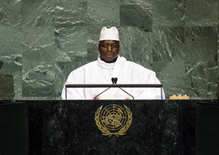 President of Gambia Addresses General Assembly