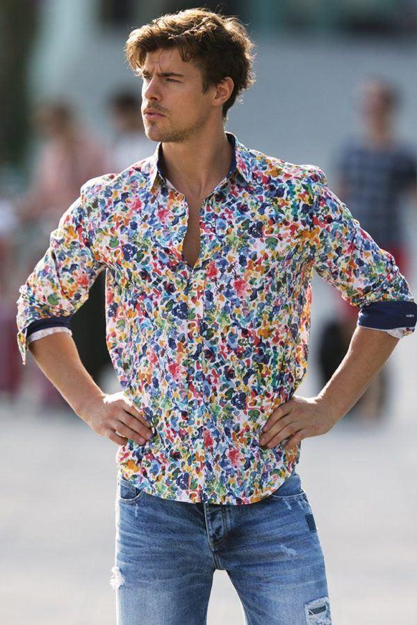 Camisas 2018 Hombre Aquascape Moda Jual Y6fgby7