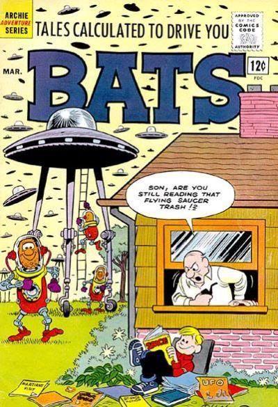 Bats #3 cover