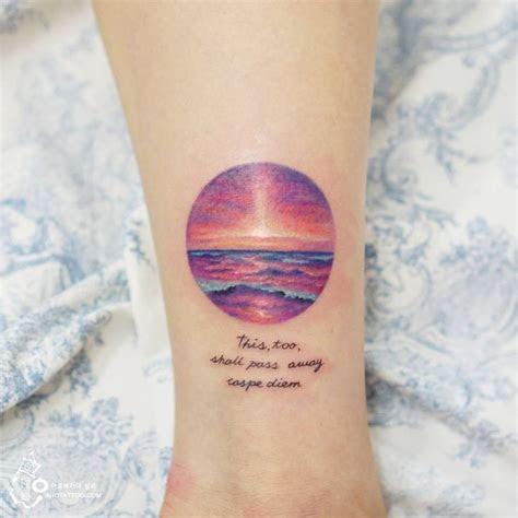 sunset tattoos images  pinterest sunset