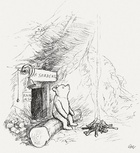 Winnie-the-Pooh Lived In A Forest All By Himself Under The Name Of Sanders.