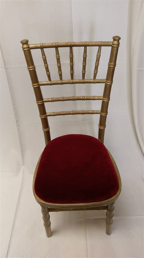 1st Setting Event Hire   Goldwash Chiavari Chairs For Hire