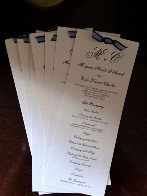 17 Best images about wedding invites and programs on