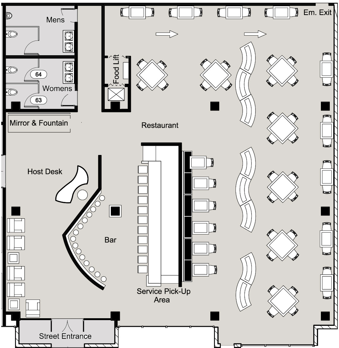 Architectural Floor / Space Plans by Jack Patterson at Coroflot.