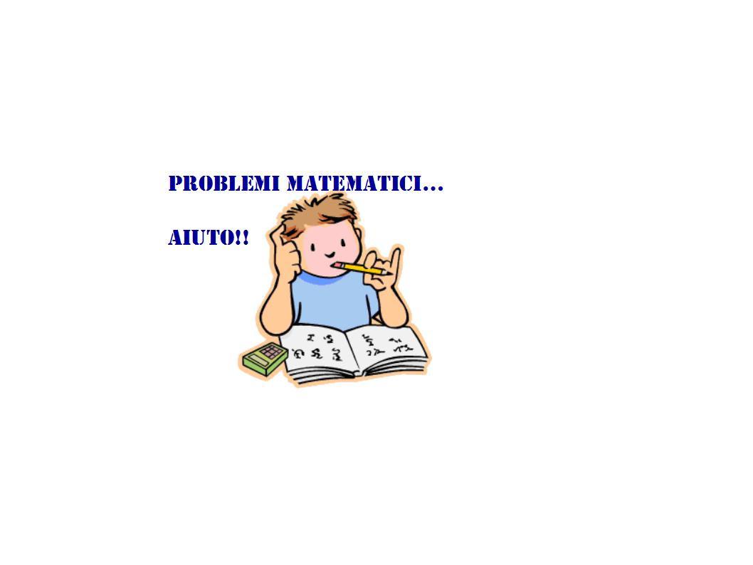 SOS Problemi di matematica - Apprendi...AMO
