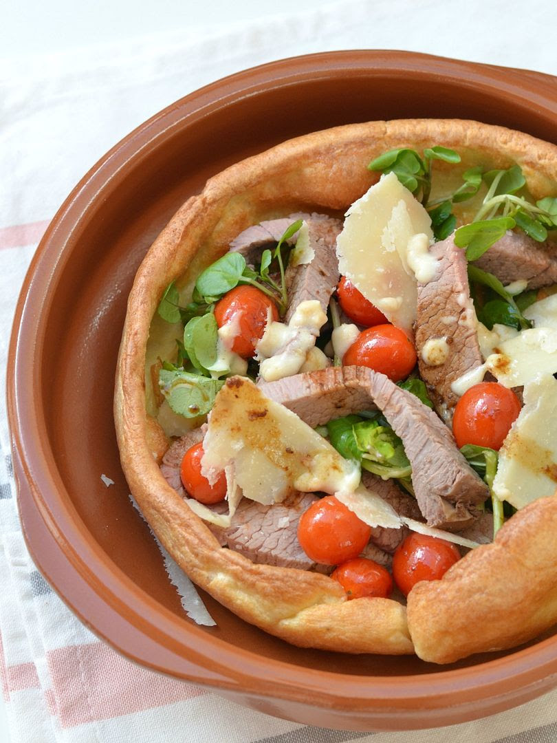 Roast Scotch Beef with Watercress, Horseradish & Grana Padano