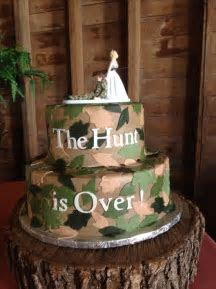 1000  ideas about Hunting Grooms Cake on Pinterest   Groom
