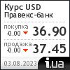 Правэкс-Банк курс доллара