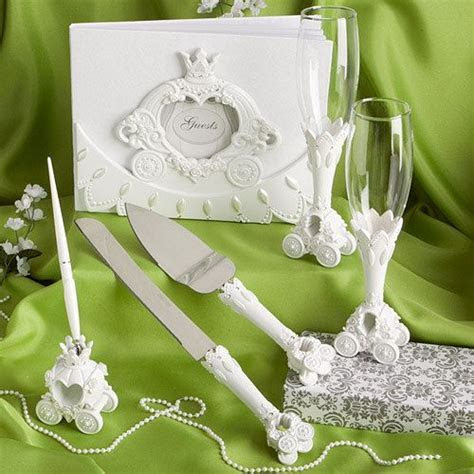 Cinderella, Fairy tale , Coach wedding set  guest book