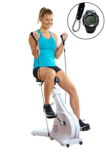Cycle Tone Exercise Bike & Toning System Including A Bonus Digital Monitor