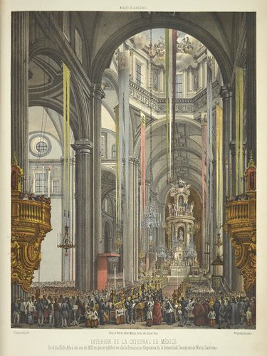 Interior de la Catedral de México