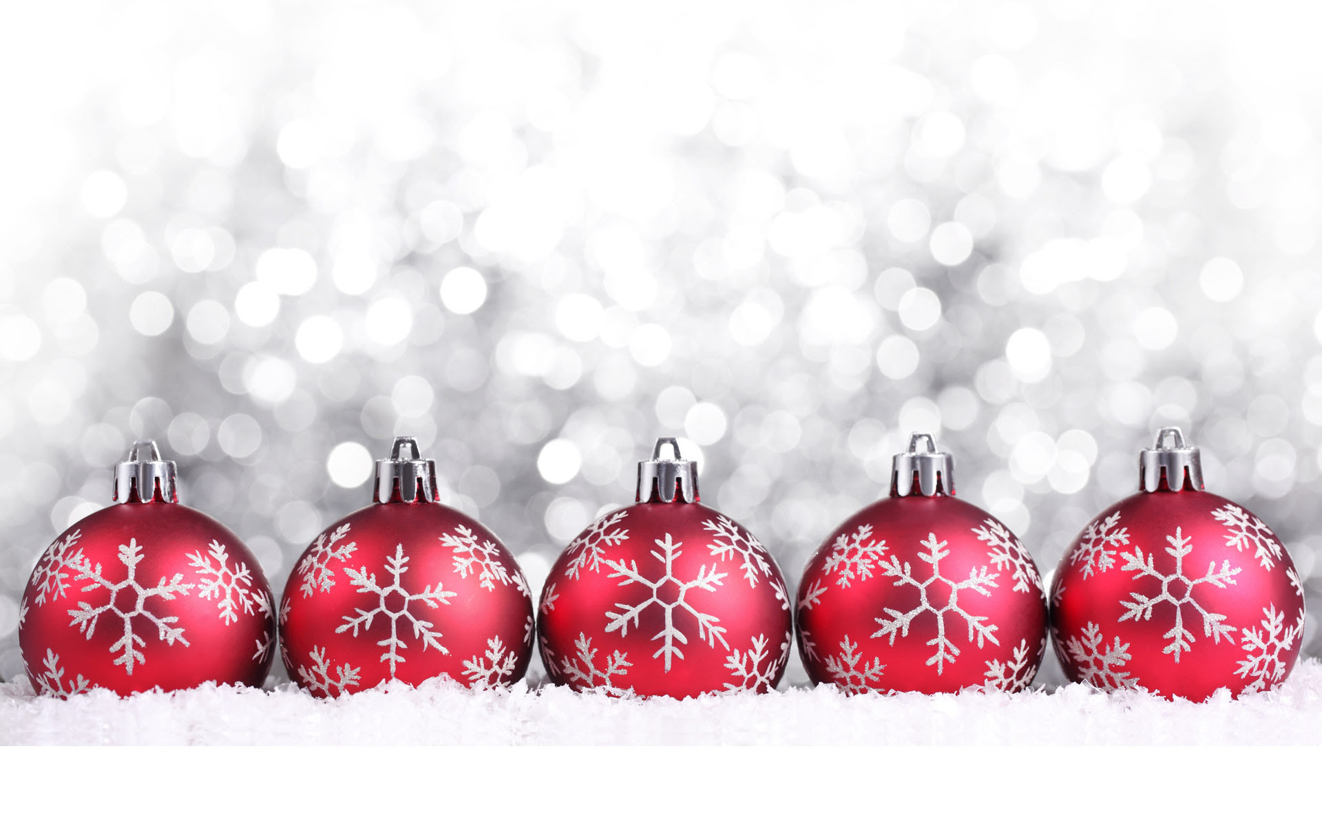 Red Christmas decorations - Christmas Wallpaper (22228015) - Fanpop