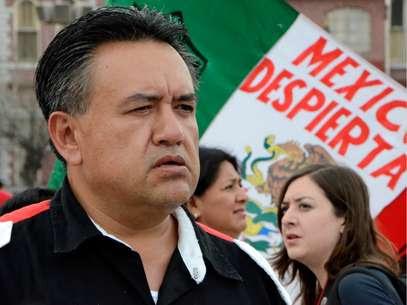 Martín Esparza, líder del SME Foto: Carlos Tamayo / Terra