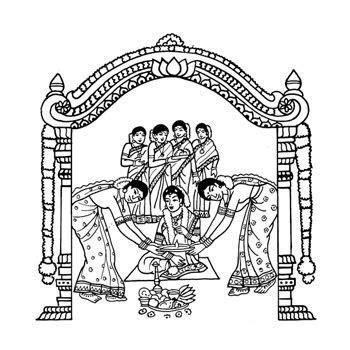 Indian Wedding Card Clipart ? 101 Clip Art